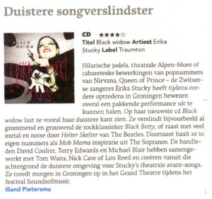 cdrecensie-Erika-Stucky-Black-Widow-Dagblad-vh-Noorden-17102013