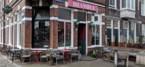 Startpunt wandeling: bar Bramble
